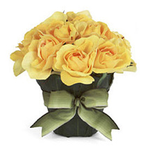 Yellow Rose Posy