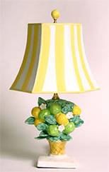 Lemon tree lamp