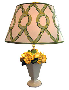 Yellow Roses Lamp