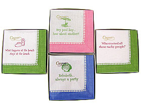Whimsical Cocktail Napkins