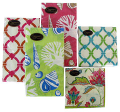 Colorful Paper Guest Towels and Cocktail Napkins