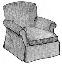 Morris Tight Back Chair